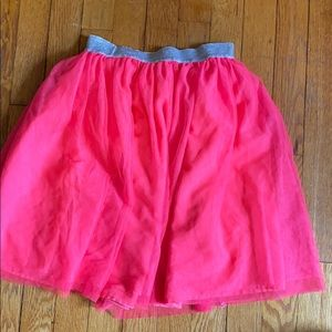 Gap kids hot pink midi tutu size medium 8